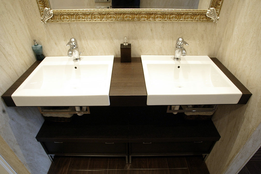 baño beige-3
