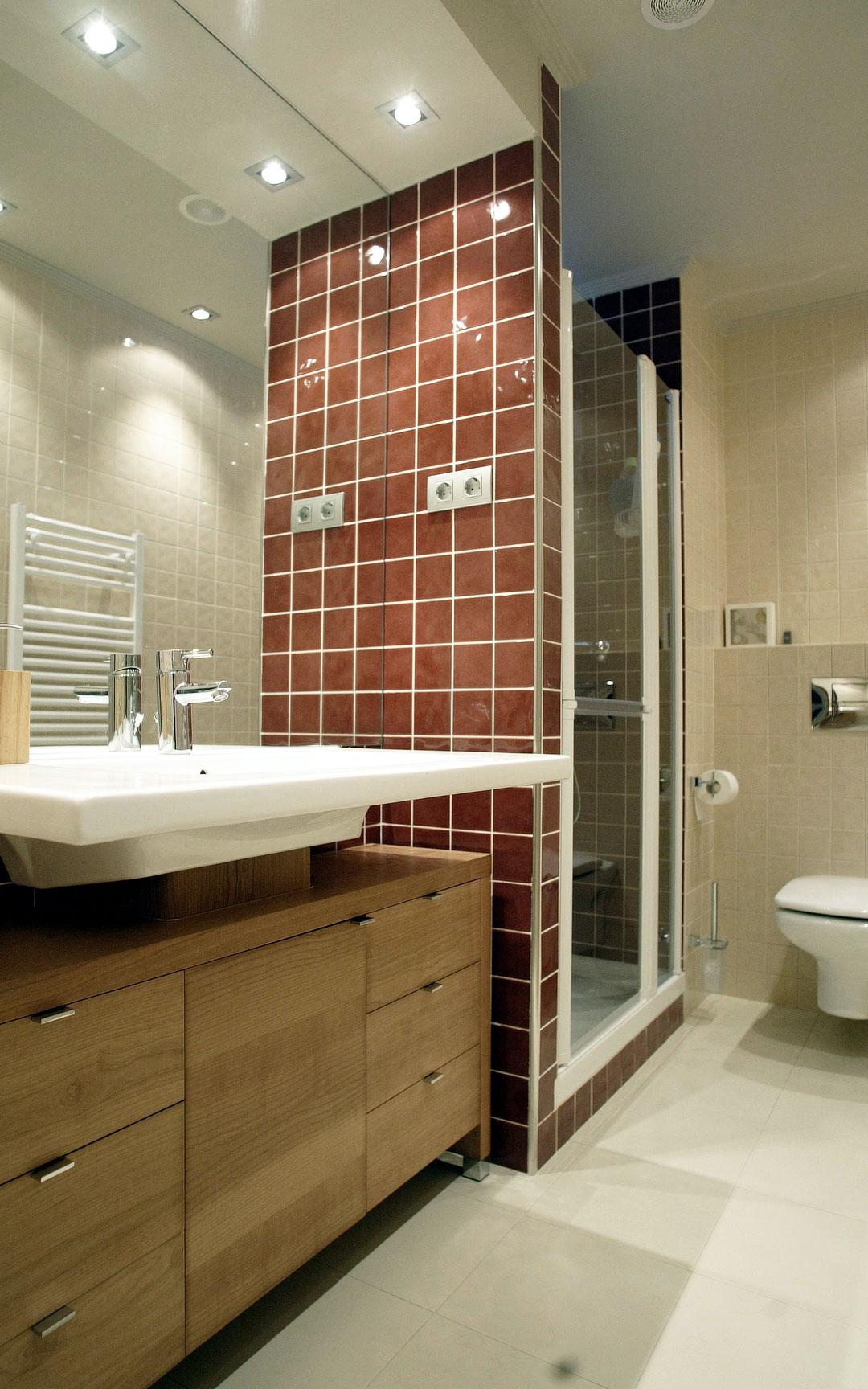 baño marron-3