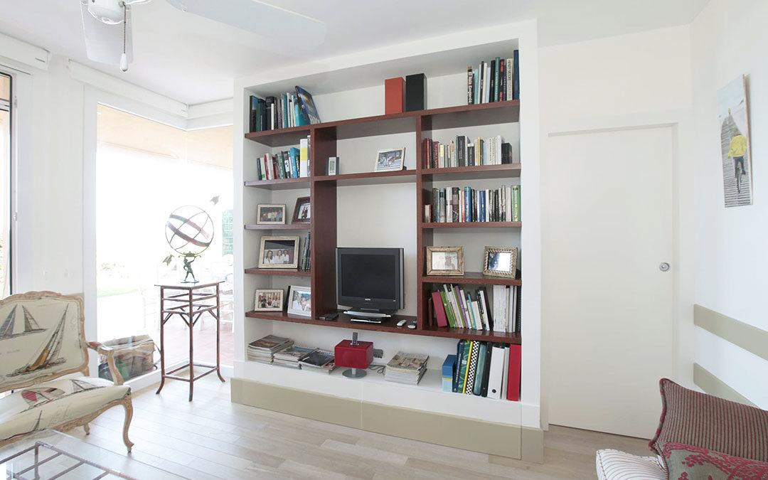 Librería habitación