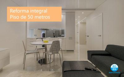 ¿Cuánto cuesta la reforma integral de un piso de 50 metros?